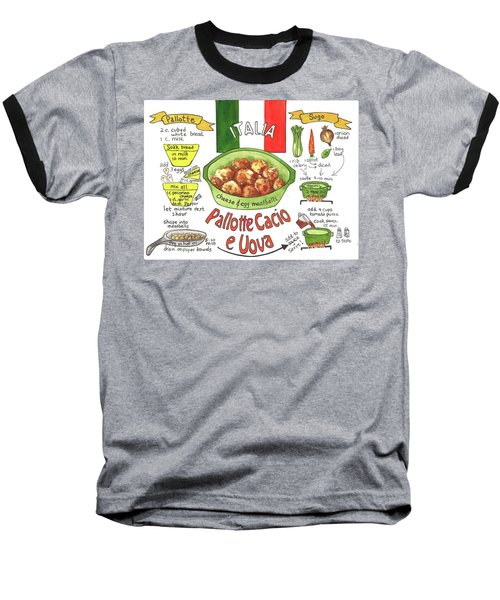 Pallotte Cacio Baseball T-Shirt