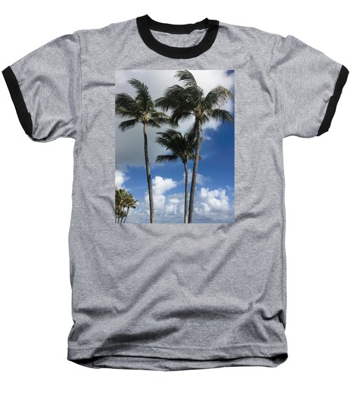 Baseball T-Shirt featuring the photograph Palm by Arlene Carmel