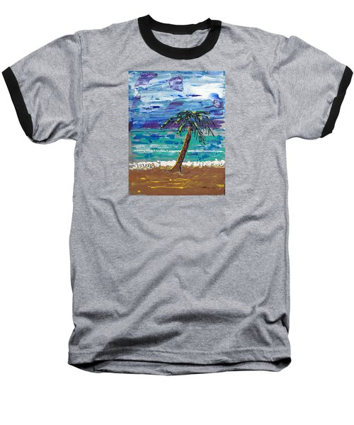 Palm Beach Baseball T-Shirt by J R Seymour