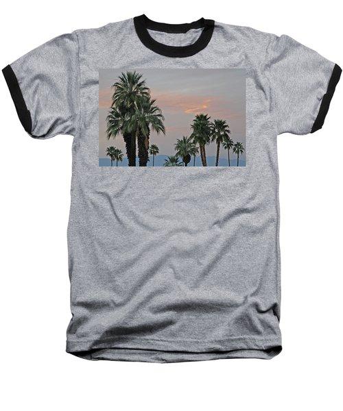 Palm Desert Sunset  Baseball T-Shirt