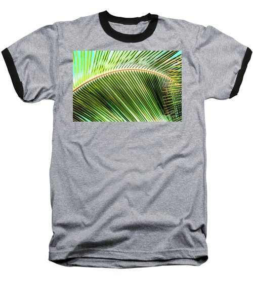 Palm Frond Sway Baseball T-Shirt