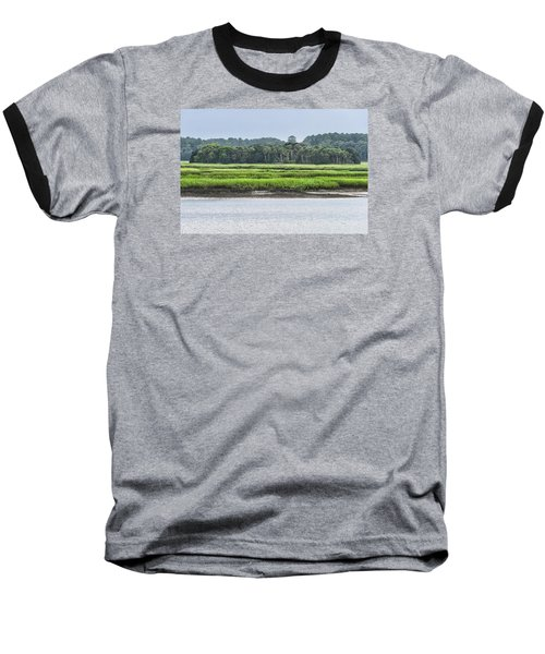 Baseball T-Shirt featuring the photograph Palm Island by Margaret Palmer