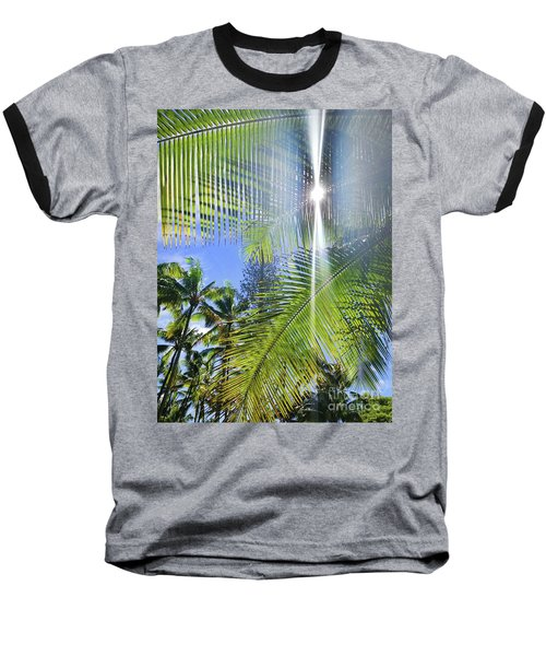 Palm Paradise Baseball T-Shirt