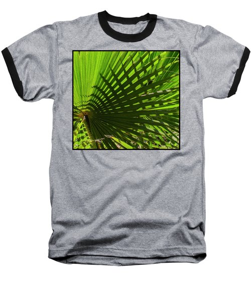 Baseball T-Shirt featuring the photograph Palm Pattern No.1 by Mark Myhaver