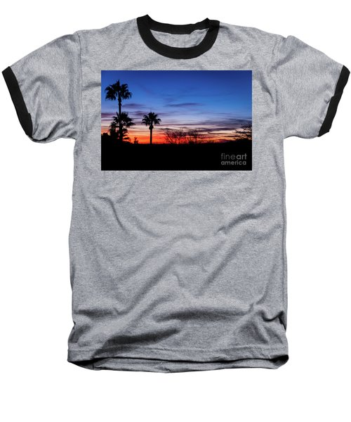 Palm Shadows II Baseball T-Shirt