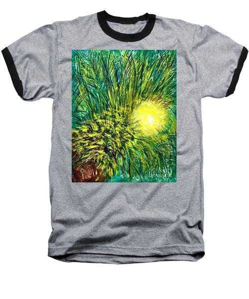 Palm Sunburst  Baseball T-Shirt