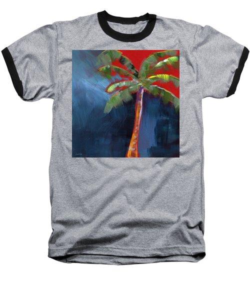 Palm Tree- Art By Linda Woods Baseball T-Shirt