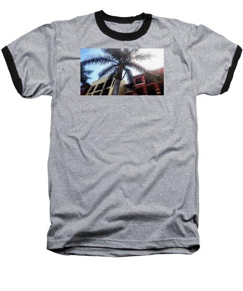 Palm Tree Art Baseball T-Shirt