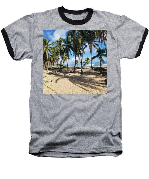 Palm Tree Family Baseball T-Shirt