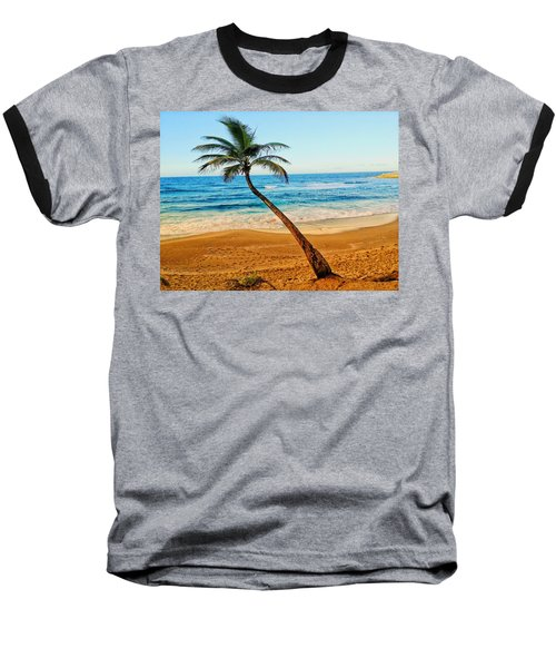 Palm Tree  Baseball T-Shirt