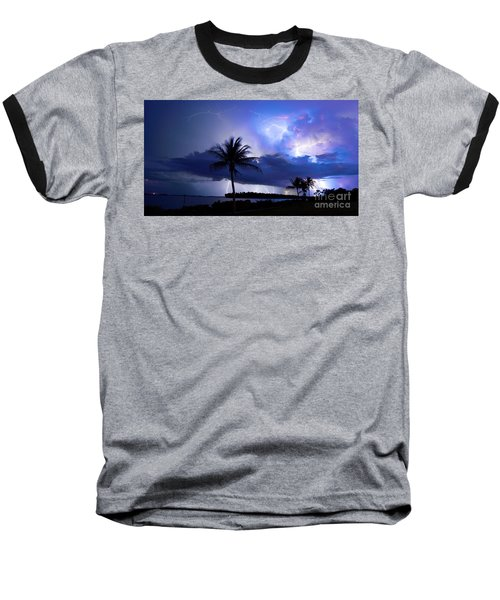Palm Tree Nights Baseball T-Shirt