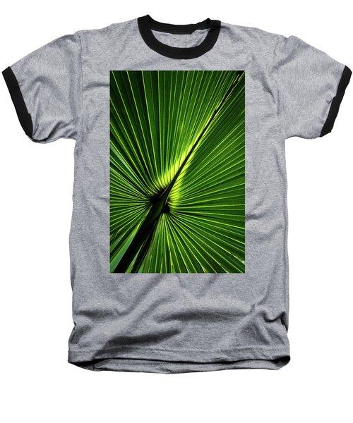 Palm Tree With Back-light Baseball T-Shirt