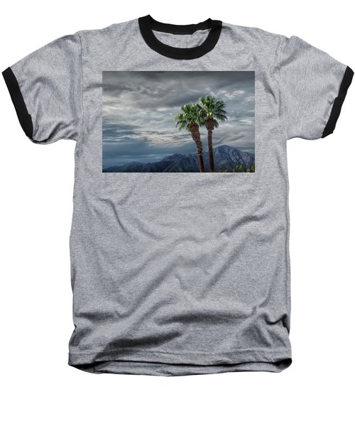 Baseball T-Shirt featuring the photograph Palm Trees By Borrego Springs In The Anza-borrego Desert State Park by Randall Nyhof