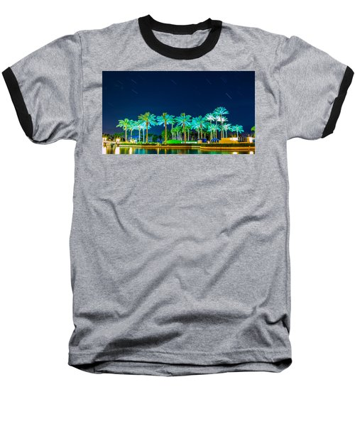 palm Trees Baseball T-Shirt