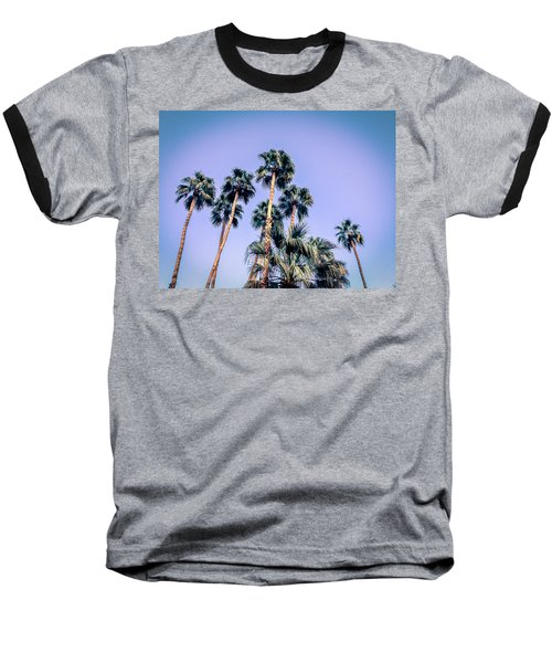 Palm Trees Palm Springs Summer Baseball T-Shirt