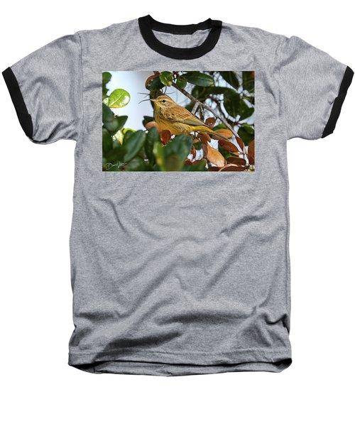 Palm Warbler Baseball T-Shirt