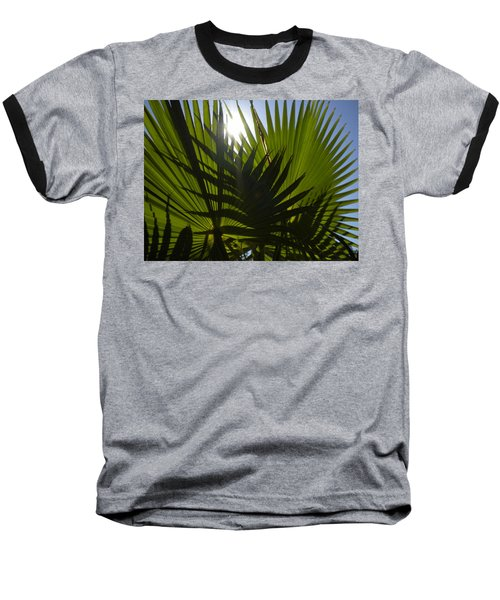 Baseball T-Shirt featuring the photograph Palmetto 3 by Renate Nadi Wesley