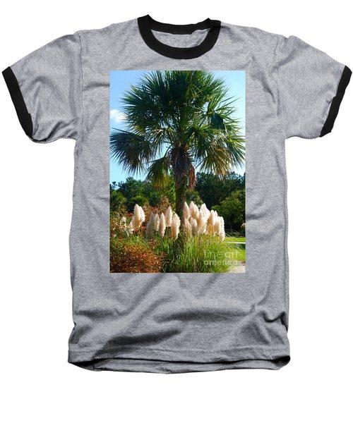 Palmetto Tree  Baseball T-Shirt