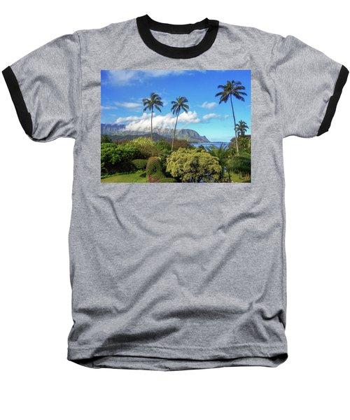 Palms At Hanalei Baseball T-Shirt