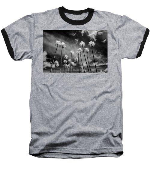 Palms Baseball T-Shirt by Sean Foster