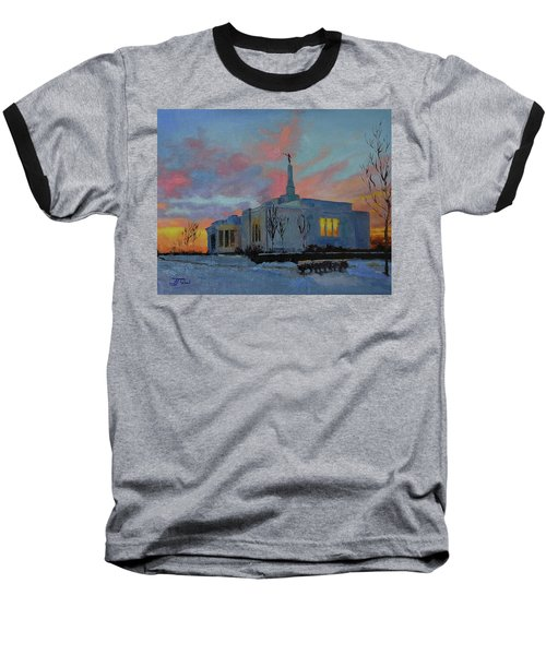 Palmyra Temple At Sunset Baseball T-Shirt