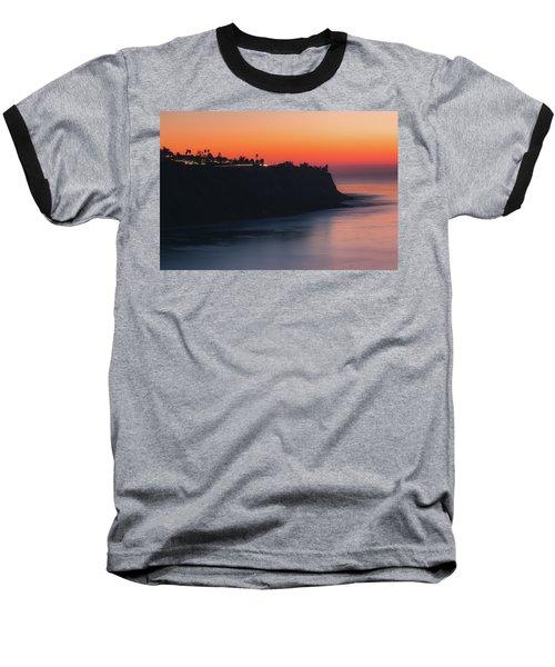 Palos Verdes Coast After Sunset Baseball T-Shirt
