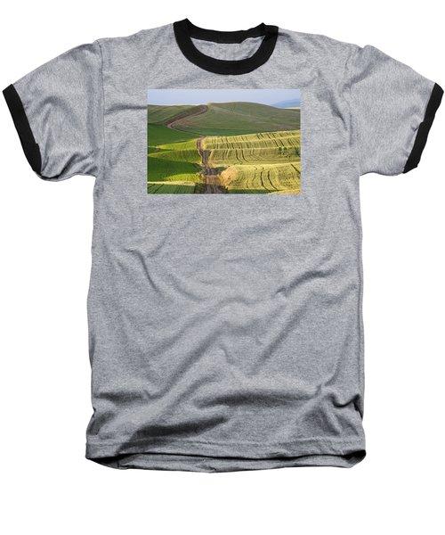Palouse Backroads Baseball T-Shirt