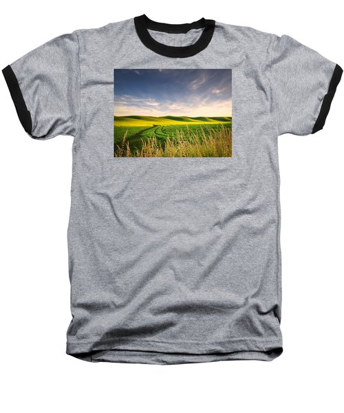 Baseball T-Shirt featuring the photograph Palouse Bounty by Dan Mihai