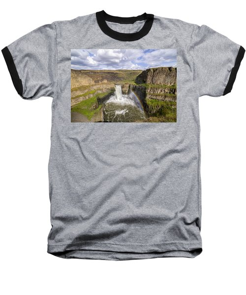 Baseball T-Shirt featuring the photograph Palouse Falls by Albert Seger