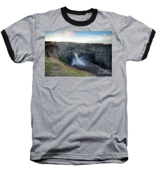 Palouse Falls Sunrise Baseball T-Shirt