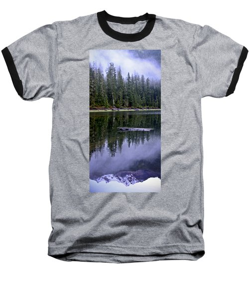 Pamelia Lake Reflection Baseball T-Shirt