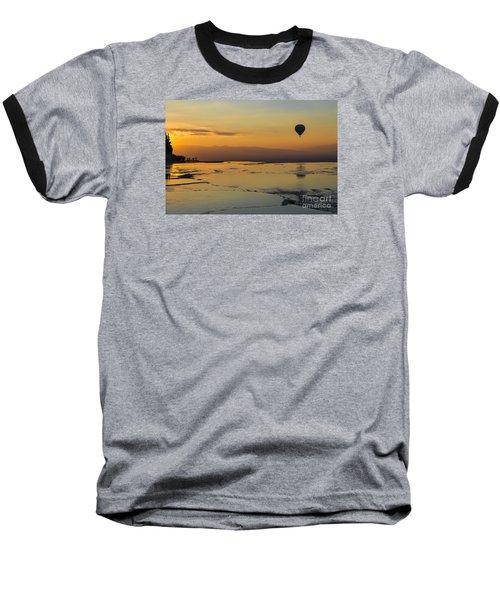 Pammukale Sunset Baseball T-Shirt