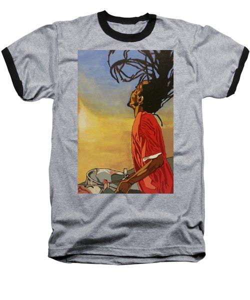 Pan Rising Baseball T-Shirt