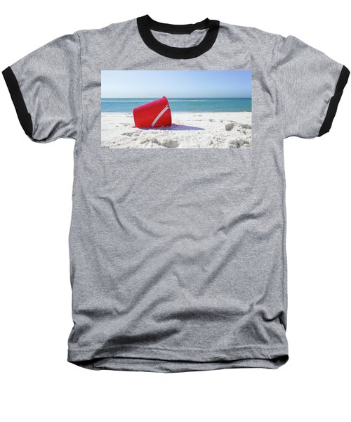 Panama Beach Florida Sandy Beach Baseball T-Shirt