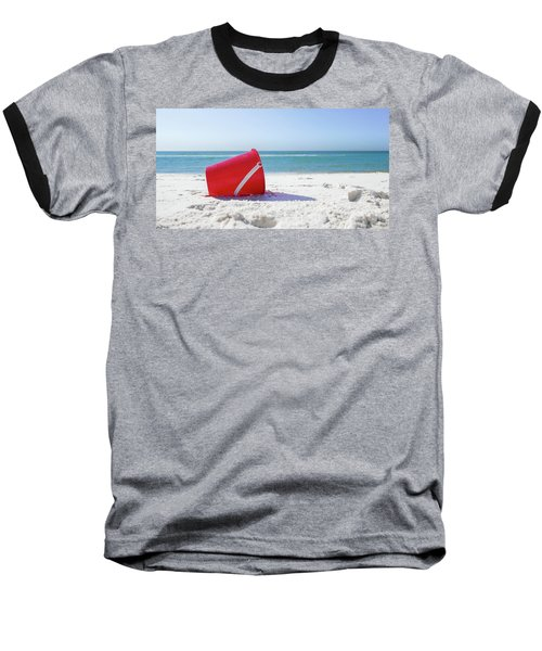 Panama Beach Florida Sandy Beach Baseball T-Shirt