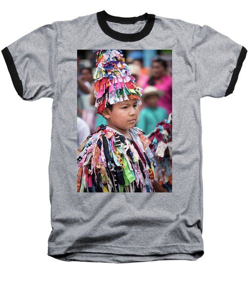 Panamanian Boy In Traditonal Costume Baseball T-Shirt