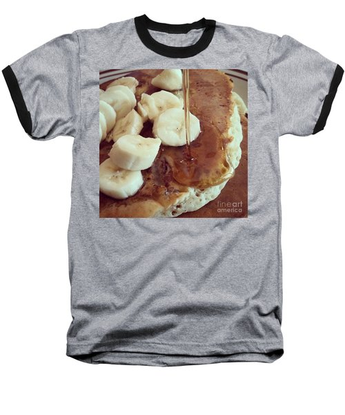 Baseball T-Shirt featuring the photograph Pancakes  by Raymond Earley