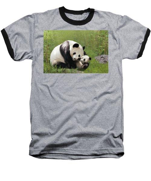 Panda Bears Baseball T-Shirt