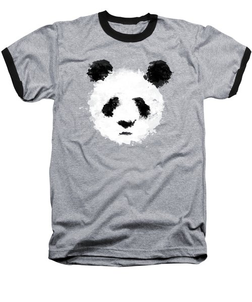 Panda Baseball T-Shirt by Mark Rogan