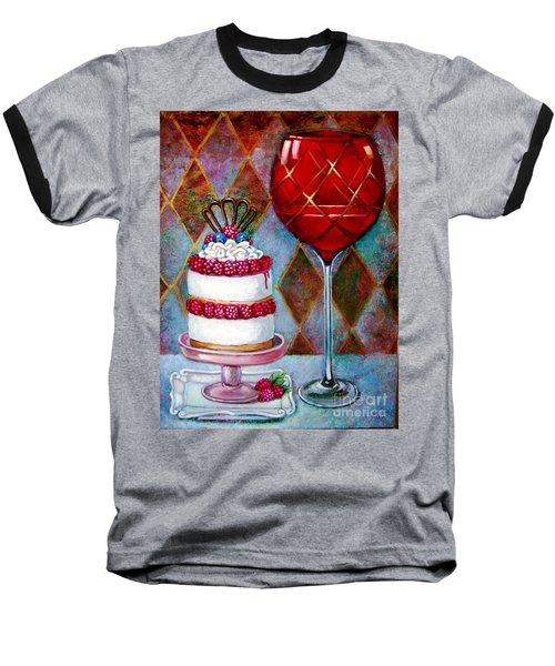 Panna Cotta Ice Cream Sandwich Baseball T-Shirt
