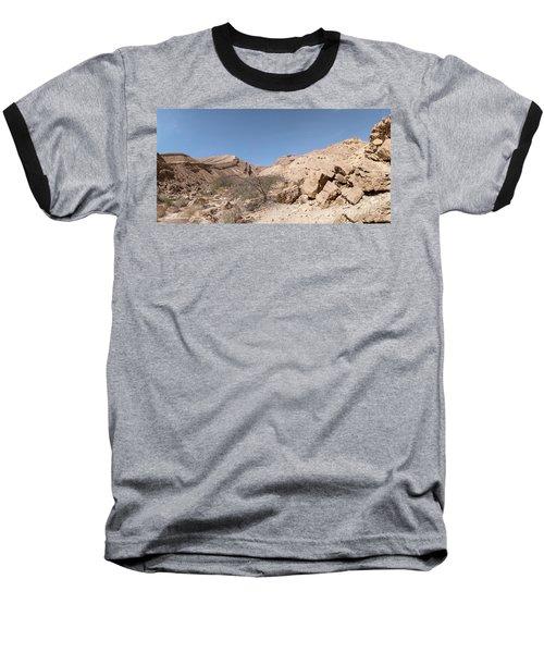 Panorama On Genesis Land 03 Baseball T-Shirt by Arik Baltinester