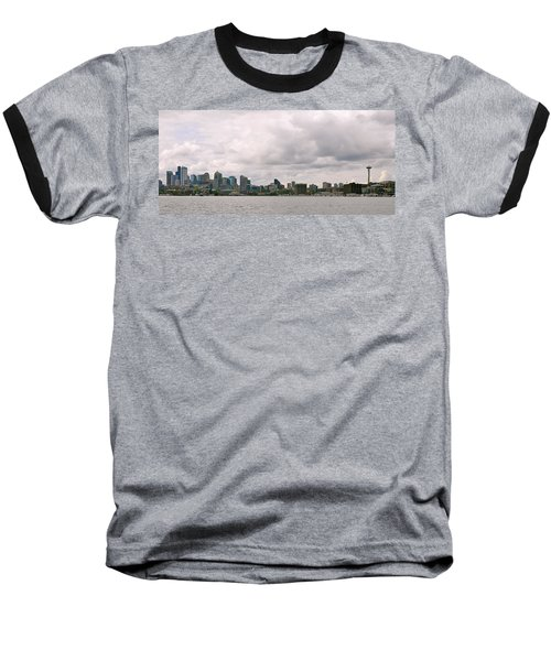 Panoramic Seattle Baseball T-Shirt