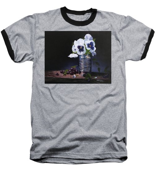 Pansies In A Can Baseball T-Shirt