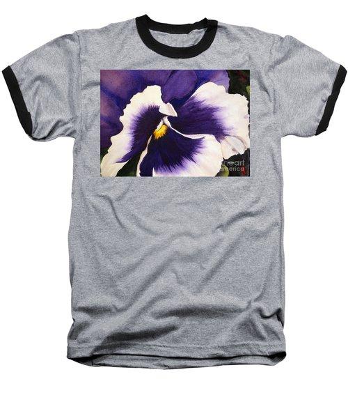 Pansy Face Baseball T-Shirt