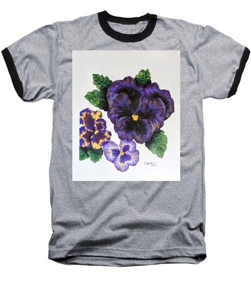 Pansy Baseball T-Shirt