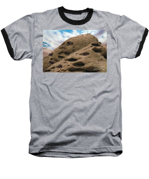 Papago Buttes Baseball T-Shirt by Anne Rodkin