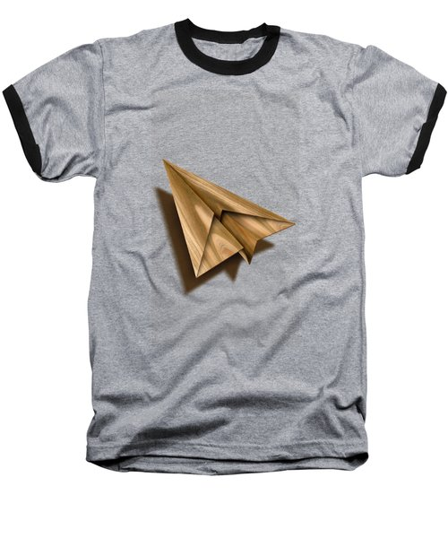Paper Airplanes Of Wood 1 Baseball T-Shirt