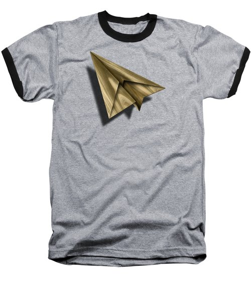 Paper Airplanes Of Wood 18 Baseball T-Shirt by YoPedro