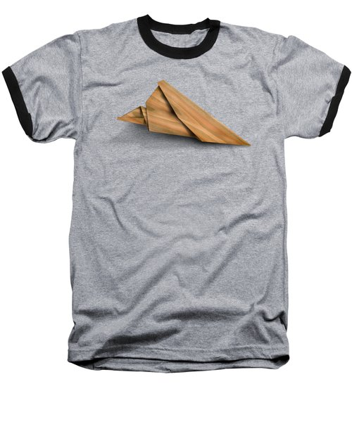 Paper Airplanes Of Wood 2 Baseball T-Shirt by Yo Pedro