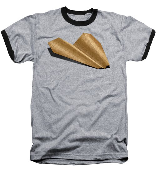 Paper Airplanes Of Wood 6 Baseball T-Shirt by YoPedro